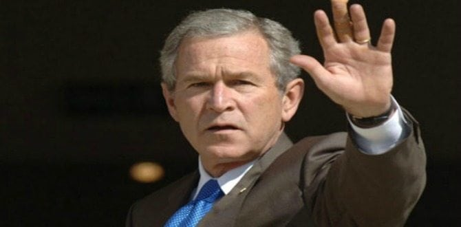Monthly Conservative Man: George W Bush