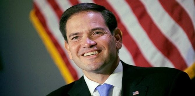 Monthly Conservative Man: Marco Rubio