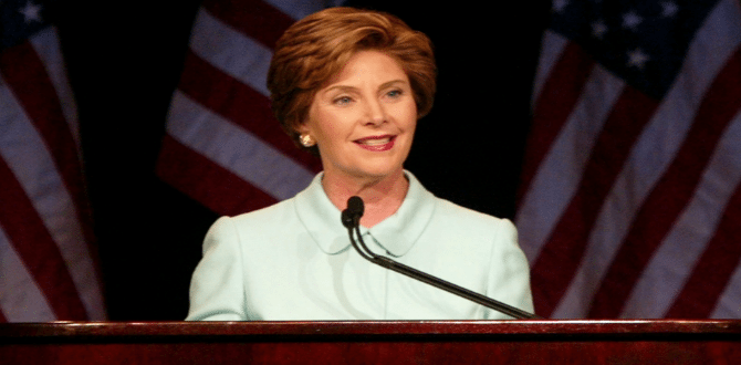5 Reasons Why Laura Bush is a Great Lady