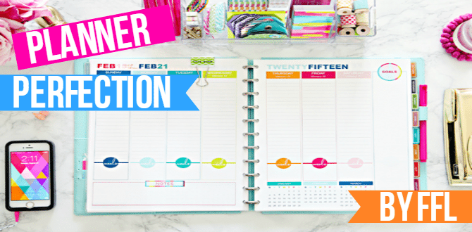 5 Ways To Organize Your Planner Effectively