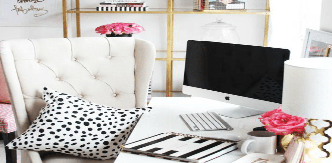 5 Ways To Create A Productive Desk Space