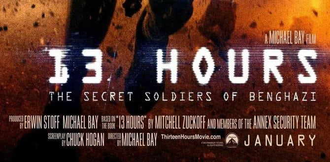 13 Reasons to See 13 Hours