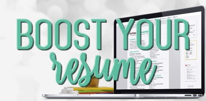 6 Ways To Boost Your Resume