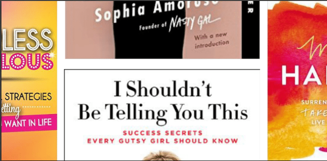 5 Books For The Aspiring Business Woman