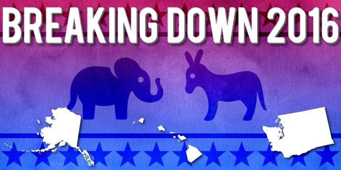Breaking Down 2016: Alaska, Hawaii, and Washington Democratic Caucuses