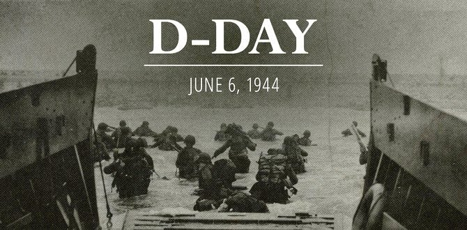 Remembering D-Day On It's 72nd Anniversary