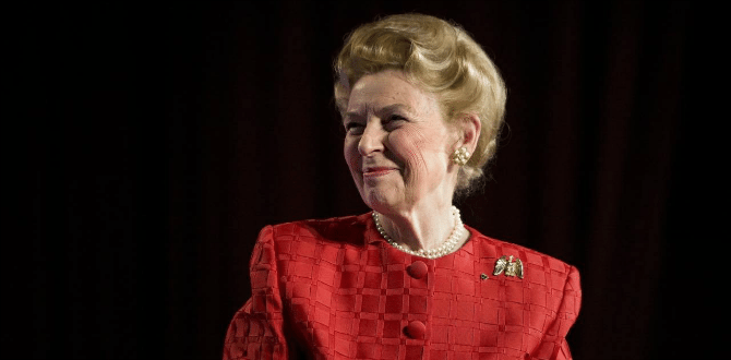 Conservative Icon, Phyllis Schlafly, Dies At 92