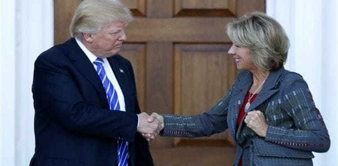 10 Things To Know About Betsy DeVos, Donald Trump's Pick For Secretary Of Education