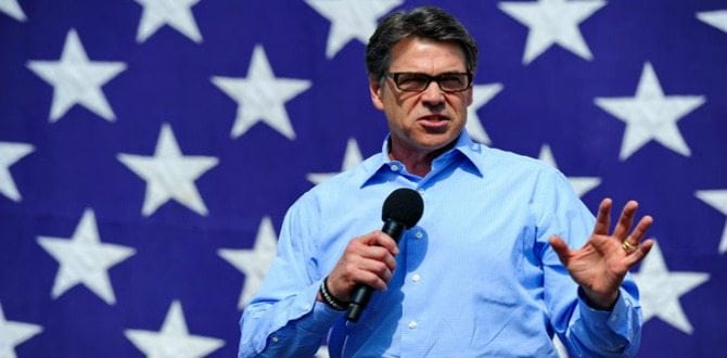 5 Reasons To Love Rick Perry, Donald Trump's Pick For Secretary of Energy
