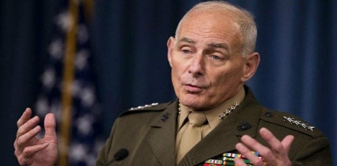 Meet General John Kelly, Donald Trump's Pick For Secretary Of Homeland Security