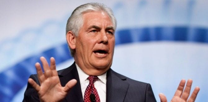 Meet Rex Tillerson, Donald Trump's Pick For Secretary Of State