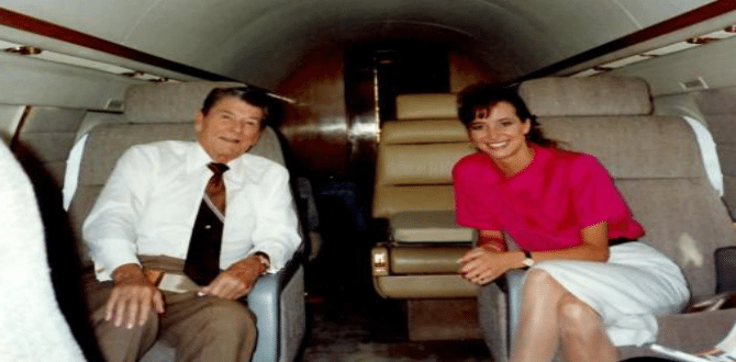 Meet The Woman That Interned For President Reagan And Earned Her Way To Be His Personal Assistant