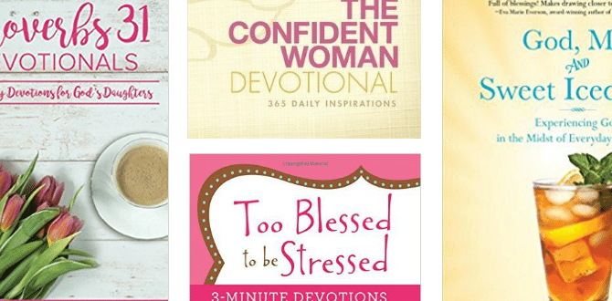 10 Daily Devotional Books For Women