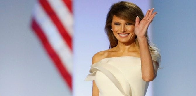 9 Of Melania Trump's Best Looks As First Lady