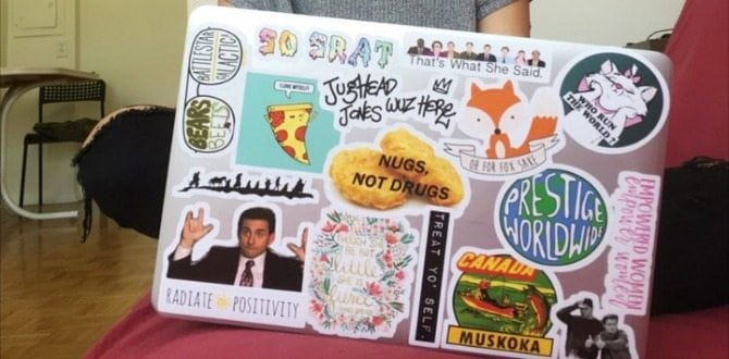 13 Laptop Stickers For The Empowered Woman