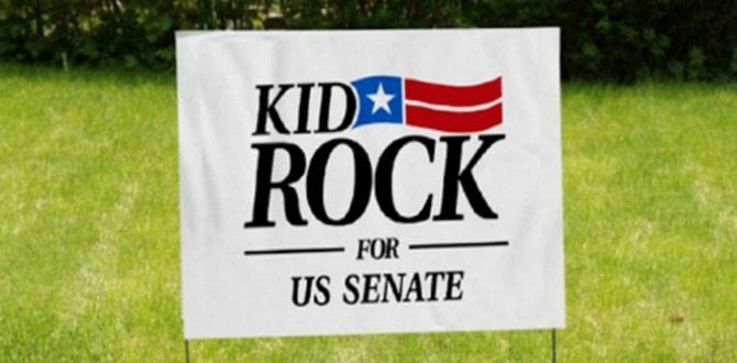 What To Know about Kid Rock's Potential Run For United States Senate