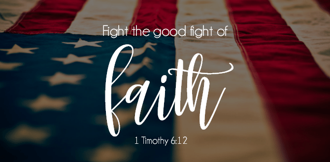 Scripture Sunday | 1 Timothy 6:12