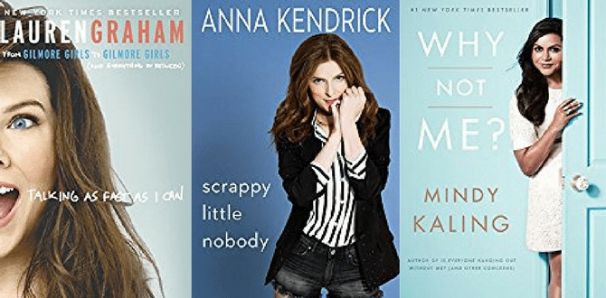 7 Celebrity Memoirs Every Future Female Leader Should Read