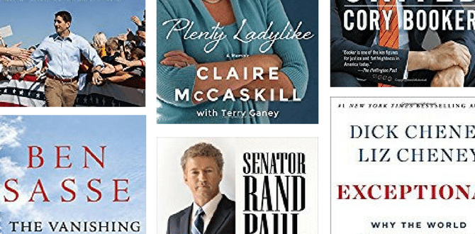 15 Books By Sitting Members Of Congress To Read