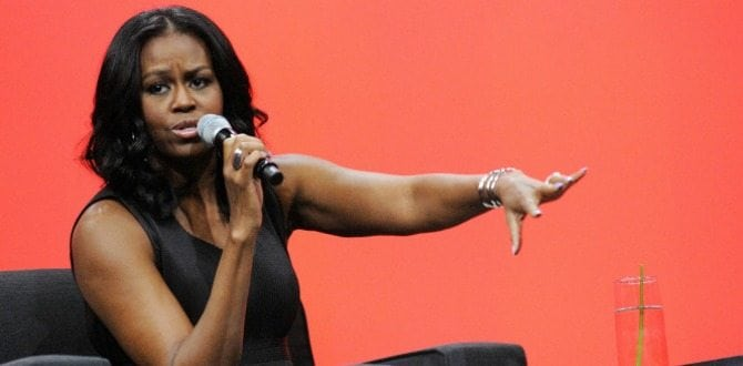 Michelle Obama Criticizes Women Who Didn't Vote For Hillary Clinton