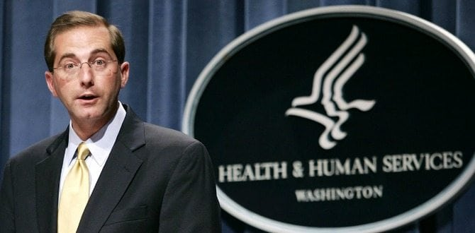4 Things To Know About Trump's Pick For HHS Secretary, Alex Azar
