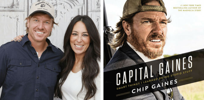 BOOK REVIEW: Chip Gaines Shares Things He Has Learned From Doing Stupid Stuff