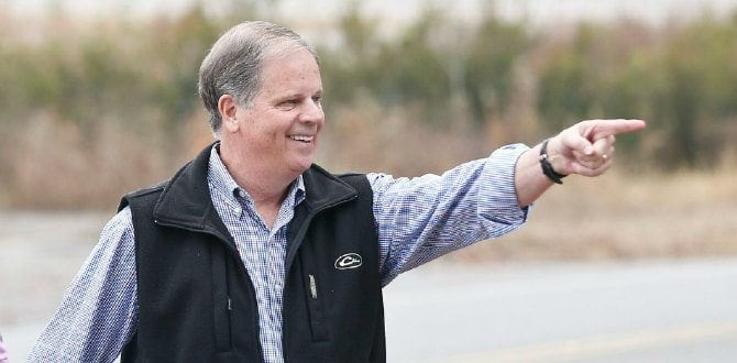 Democrat Doug Jones Wins Alabama Senate Seat