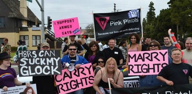 Meet the Pink Pistols: The Pro-LGTBQ Pro-2A Group