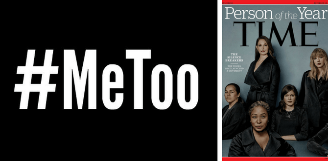 Time Names 'The Silence Breakers' And #MeToo Movement As Person Of The Year For 2017