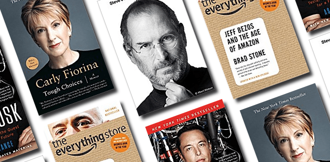 7 Books About CEOs We Can All Learn From