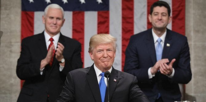 4 Big Takeaways From President Trump's First State Of The Union Address