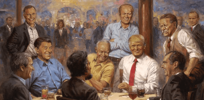 Painter Andy Thomas' New Presidential Paintings Has An Addition Who Has A Striking Resemblance To This Republican Woman