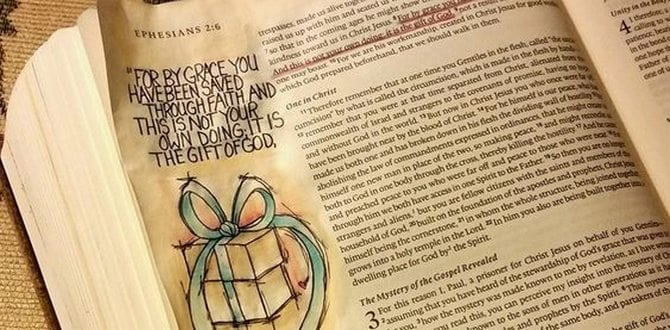 Scripture Sunday: Ephesians 2:8-9