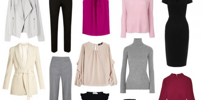 Your Ultimate Guide For Creating A Professional Capsule Wardrobe