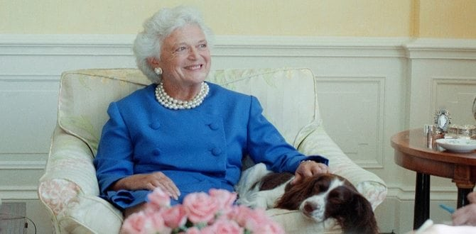 Former First Lady Barbara Bush Passes Away At Age 92