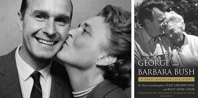 BOOK REVIEW: George & Barbara Bush's Love In Pictures And Stories In New Book, A Great American Love Story