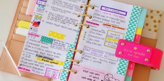 A Step-by-Step Guide To Using Your Planner This Year