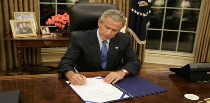 QUIZ: How Much Do You Know About The George W. Bush Administration?