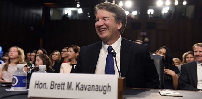 Judge Kavanaugh Stands For Women During Confirmation Hearing