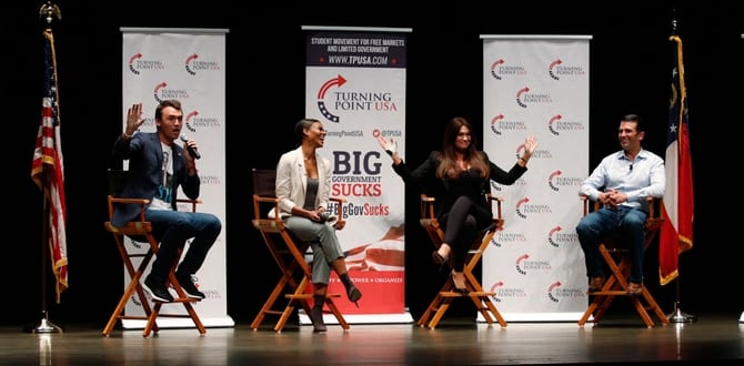 I Attended Turning Point USA's Campus Clash With Charlie Kirk And Candace Owens, Here's What I Experienced