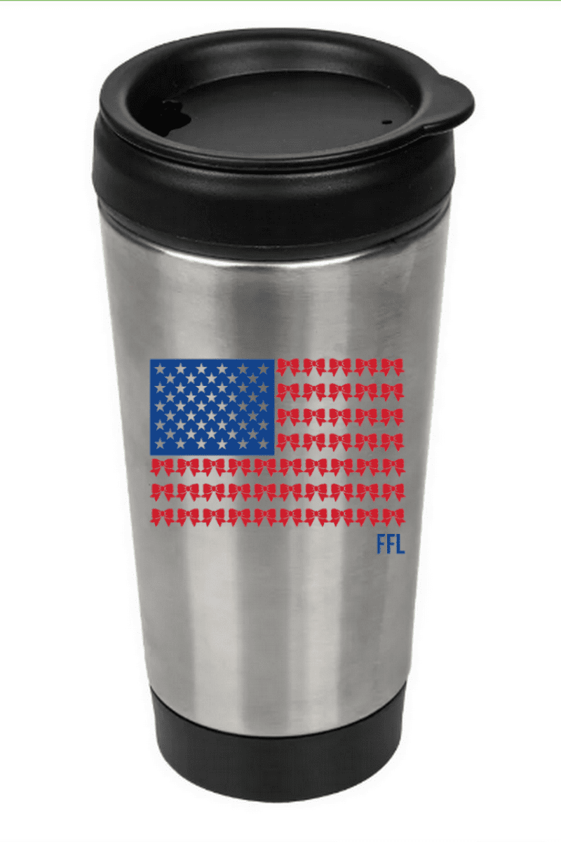 PATRIOTIC TRAVEL TUMBLERS