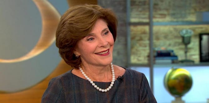 5 Things To Know About Former First Lady, Laura Bush