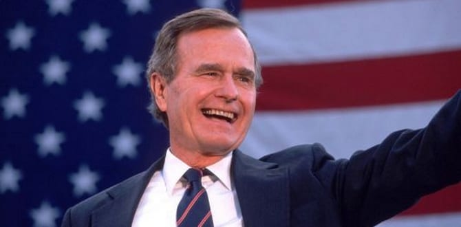 4 Lessons We Can Learn From President George HW Bush
