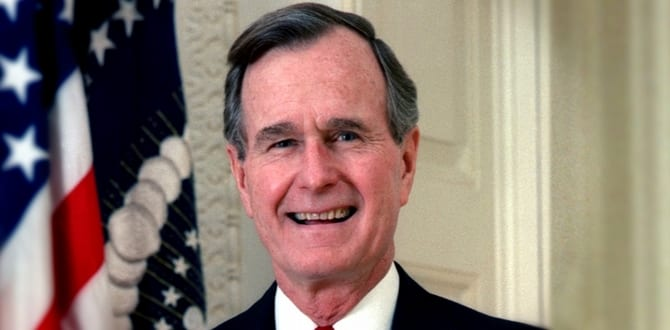 Remembering George H.W. Bush through His Own Words
