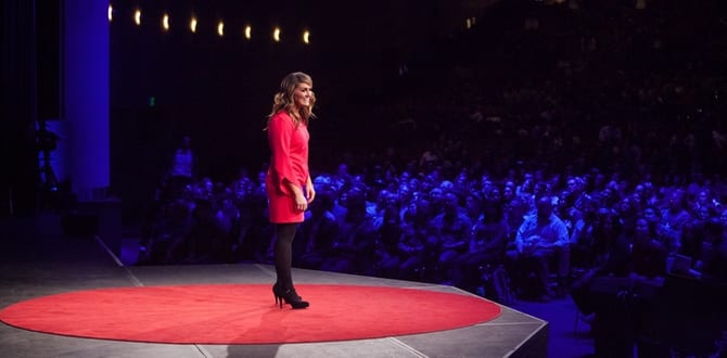 KIMBERLY CORBAN: A Behind The Scenes Look At What It Takes To Get To TED's 'Red Dot'