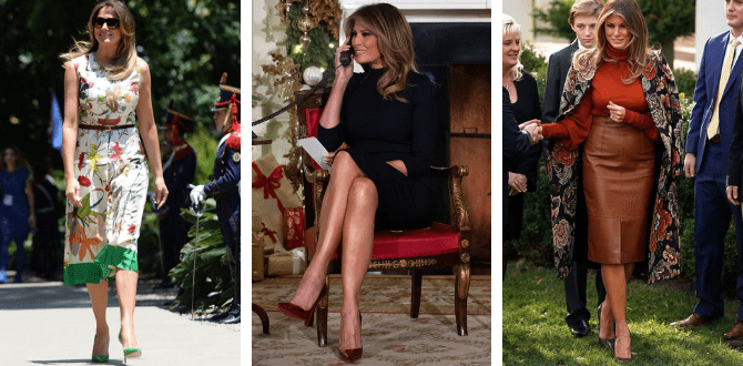 10 Of First Lady Melania Trump's Best Outfits And What We Can Learn From Them