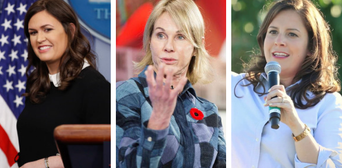 CONSERVATIVE WOMEN WEEKLY: 4 Republican Women Who Made Headlines This Week
