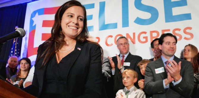 Elise Stefanik Represents The Next Generation of Republicans, Here's Why