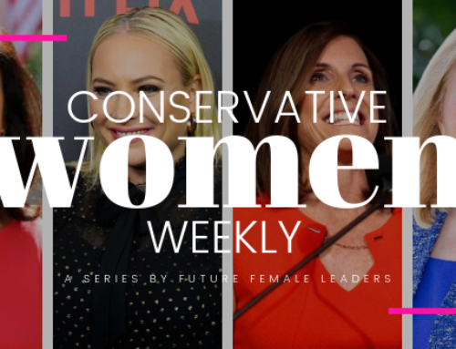 CONSERVATIVE WOMEN WEEKLY: 4 Ways Republican Women Shined This Week