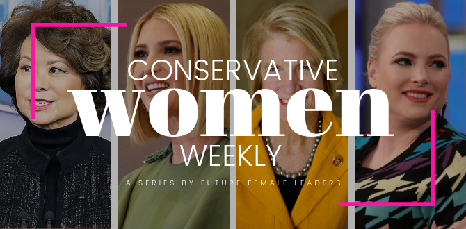 CONSERVATIVE WOMEN WEEKLY: 5 GOP Women Who Made An Impact This Week